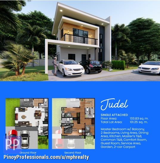 House for Sale - BREEZA COVES - JUDEL 4BR SINGLE ATTACHED HOUSE IN LAPU-LAPU