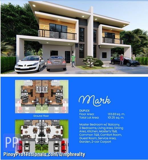 House for Sale - BREEZA COVES - 4BR DUPLEX HOUSE (MARK MODEL) IN MACTAN CEBU