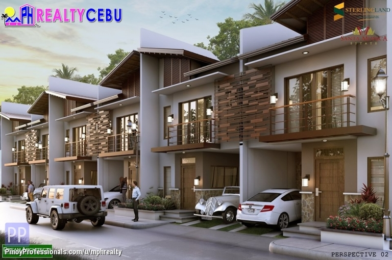 House for Sale - STA. MONICA ESTATE - 3BR TOWNHOUSE IN TISA LABANGON CEBU CITY