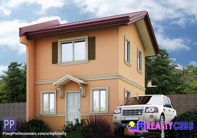 House for Sale - B4 L12 BELLA MODEL - 2BR CORNER HOUSE CAMELLA RIVERFRONT CEBU CITY