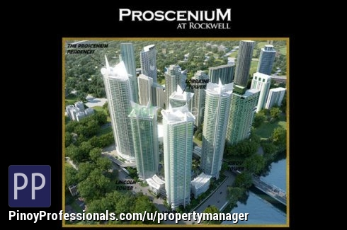 Apartment and Condo for Sale - Residential Condominium in Proscenium Rockwell, Makati Contact us now +639202969084