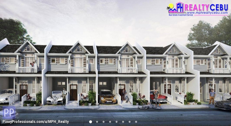 House for Sale - ESTELLE WOODS RES. - 3BR TOWNHOUSE FOR SALE IN TALAMBAN CEBU CITY