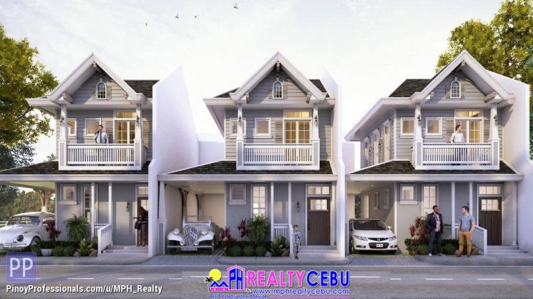 House for Sale - ESTELLE WOODS RES. - 4BR SINGLE ATTACHED HOUSE TALAMBAN CEBU CITY