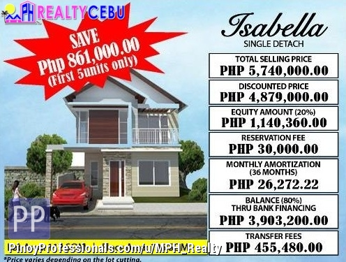 House for Sale - ISABELLA MODEL 4BR HOUSE FOR SALE IN CITADEL ESTATE LILOAN CEBU