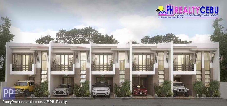 House for Sale - JEMSVILLE - 3 BR TOWNHOUSE FOR SALE IN LAHUG CEBU CITY