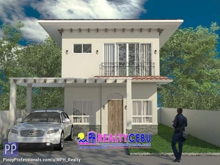 House for Sale - SINGLE ATTACHED 3BR HOUSE IN PUEBLO SAN RICARDO TALISAY CEBU