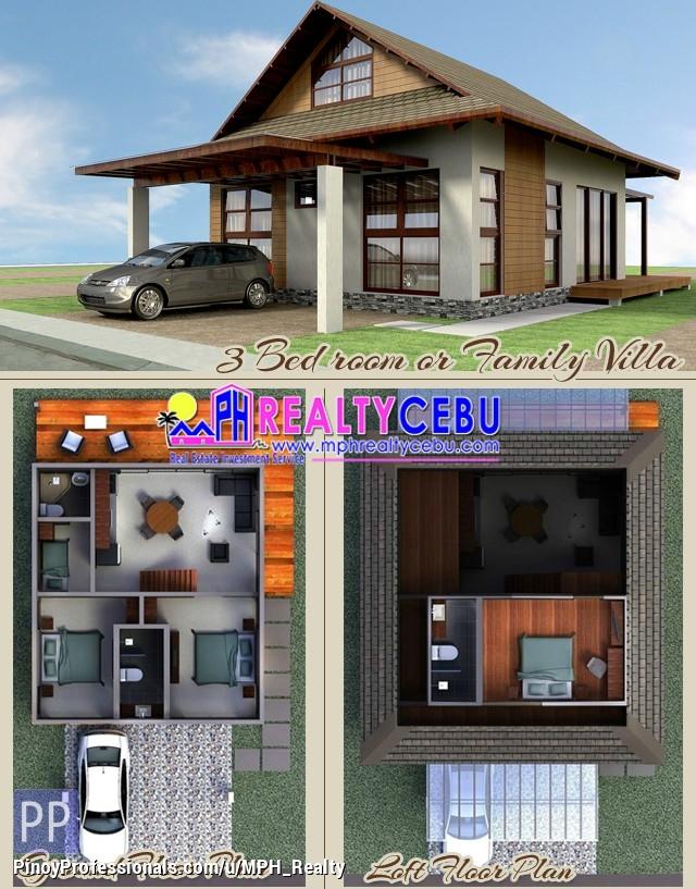 House for Sale - BLK 1 LOT 20 3-BEDROOM VILLA AT ADUNA IN DANAO CEBU