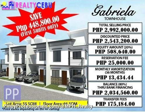 House for Sale - 3BR 2TB GABRIELA MODEL HOUSE FOR SALE IN CITADEL ESTATE LILOAN