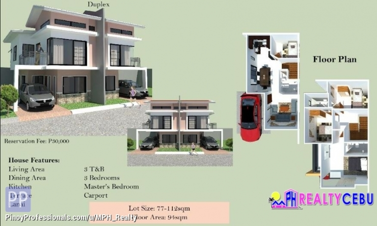 House for Sale - 4BR 3TB HELENA MODEL HOUSE FOR SALE IN CITADEL ESTATE LILOAN