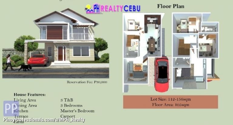 House for Sale - 4BR 3TB ISABELLA MODEL HOUSE FOR SALE IN CITADEL ESTATE LILOAN