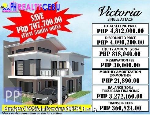 House for Sale - 4BR 3TB VICTORIA MODEL HOUSE FOR SALE IN CITADEL ESTATE LILOAN