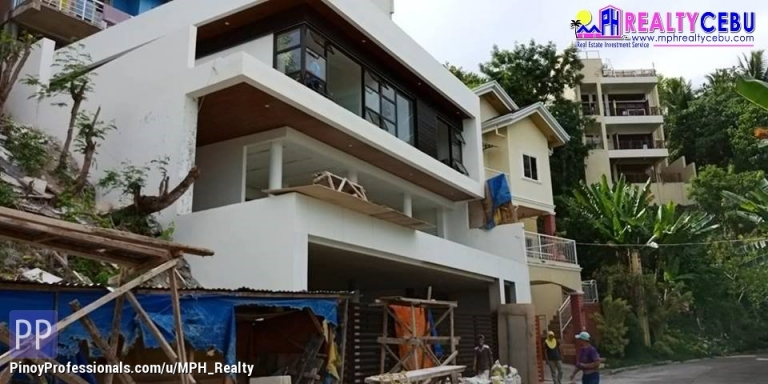 House for Sale - 380m² 5BR 3TB OVERLOOKING HOUSE IN TISA LABANGON CEBU CITY