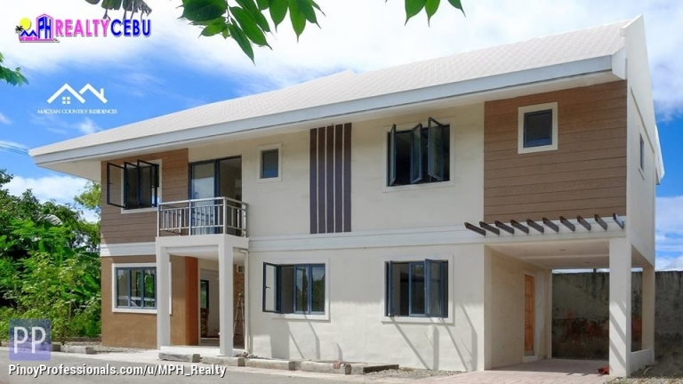 House for Sale - 160.96m² 4BR HOUSE FOR SALE IN MACTAN COUNTRY RES. LAPU-LAPU