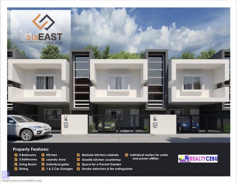 House for Sale - UNIT B02 4BR HOUSE IN 318 EAST OVERLOOK BANAWA CEBU CITY