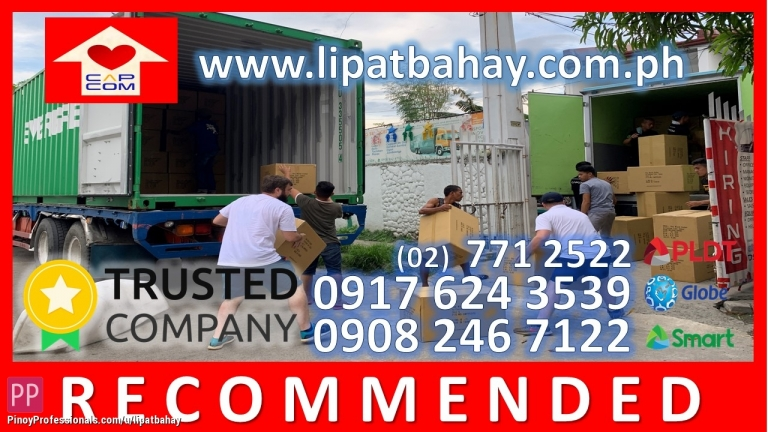 Moving Services - 10 WHEELER WING VA N Truck for rent trucking services Lipat bahay house home movers moving services lipat gamit