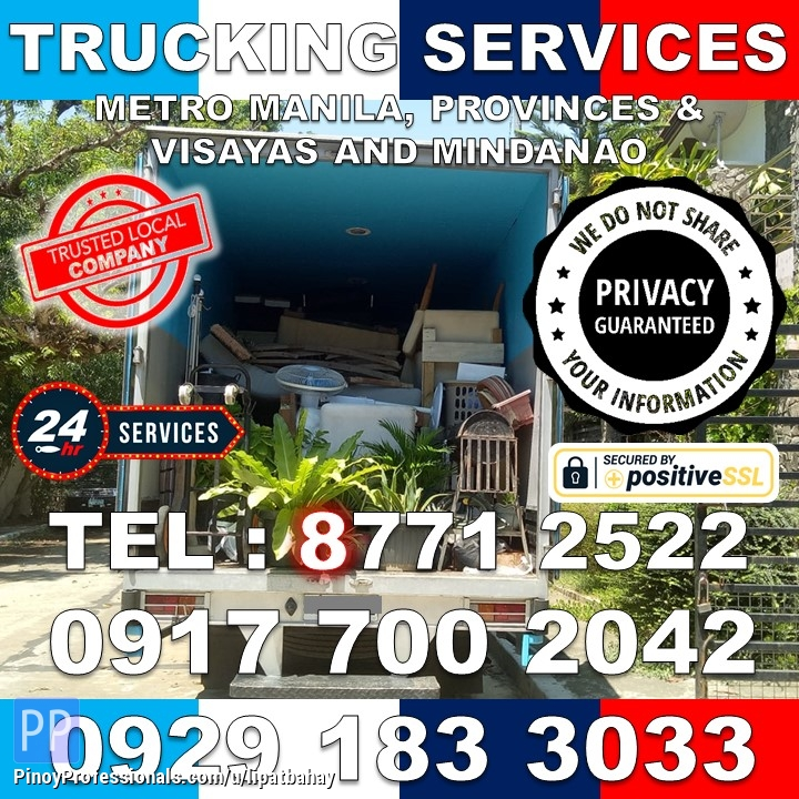 Moving Services - MOVERS LIPAT BAHAY & TRUCKING SERVICES