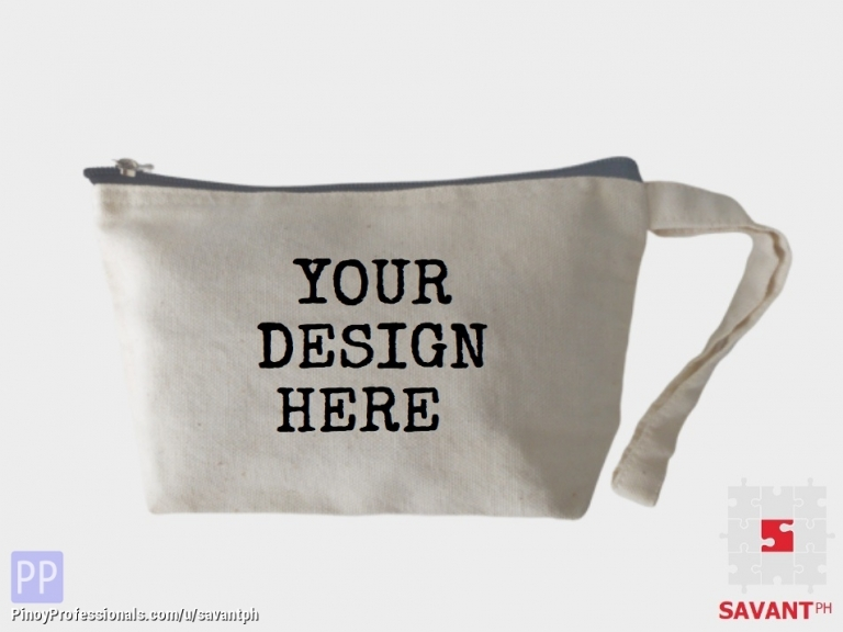 Everything Else - Canvas Zipper Pouch Philippines