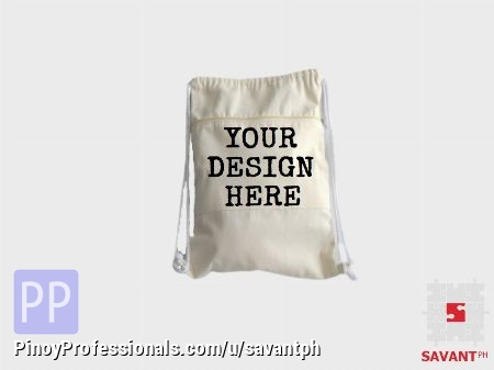 Everything Else - Customized Canvas Drawstring Bags & Backpacks Philippines