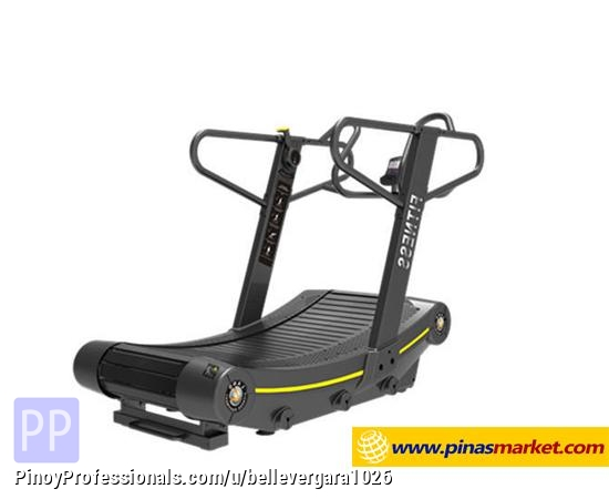 Sporting Goods - Manual Curved Treadmill