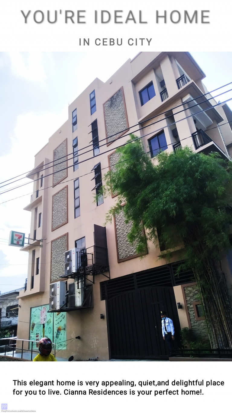 Room for Rent - My Home Sweet Home Studio Unit in Cebu, 9,000 monthly