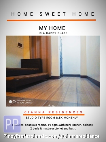 Room for Rent - Rooms for Rent in Cebu,8,500 monthly