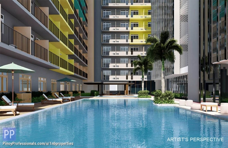 Apartment and Condo for Sale - Bay Area Condo For Sale P17,000/mo. No Outright Down Payment
