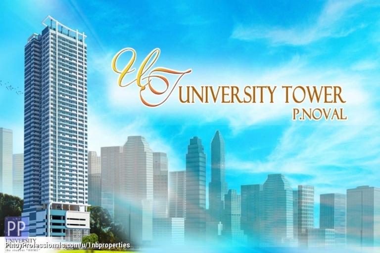 Apartment and Condo for Sale - RFO Manila Condominium For Sale Near NU