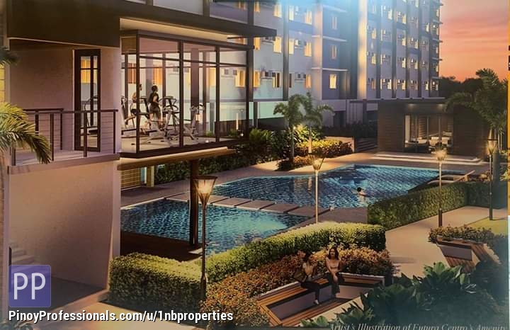 Apartment and Condo for Sale - 2BR Sta. Mesa Condominium For Sale P14k/mo. Near University Belt