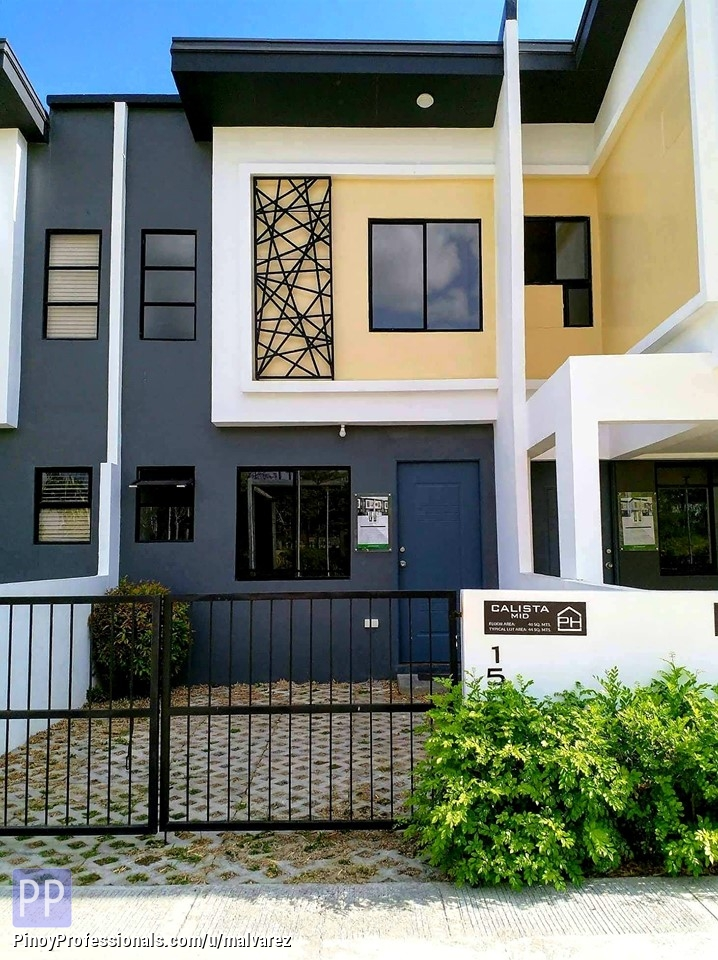 House for Sale - RENT TO OWN! PHIRST PARK HOMES - A FIRST THAT LASTS (CALLISTA MID) AS OF 23 NOV 2019
