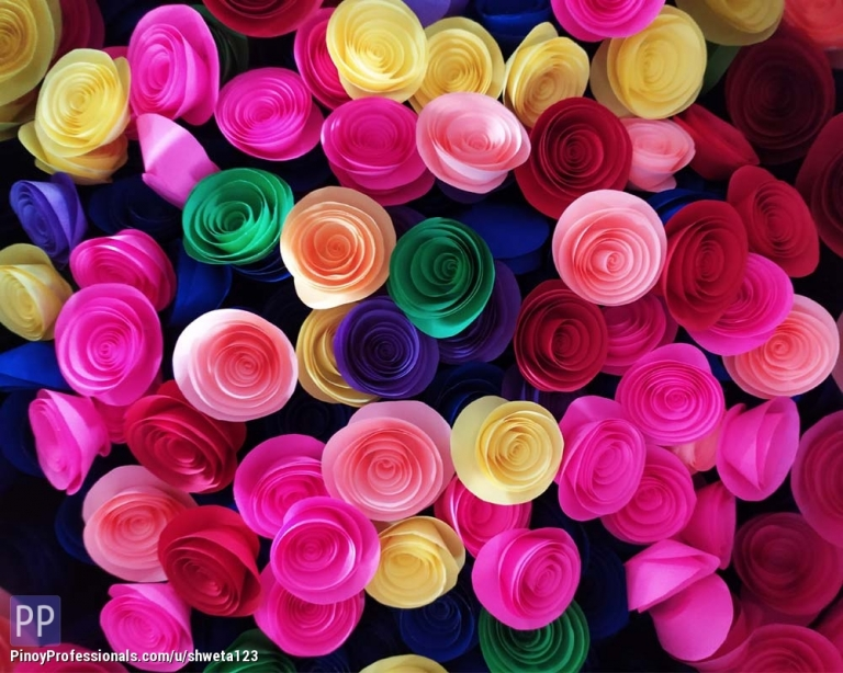 Arts and Crafts - Designer Flower for wall decor-office decor