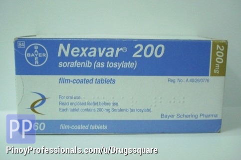 Health and Medical Services - Buy Nexavar Online | Bayer Sorafenib 200mg Tablet at Lowest Price in Philippines