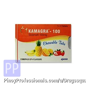 Health and Medical Services - Buy Kamagra Chewable Online | Ajanta Sildenafil 100 mg Tablet at Lowest Price in Philippines