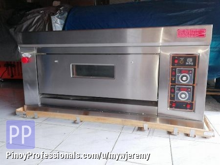 Everything Else - 1 DECK OVEN (2 TRAY GAS OVEN)