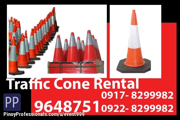 Event Planners - Traffic Cones Rent Hire Manila Philippines