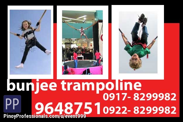 Event Planners - Bungy Trampoline Rent Hire Manila Philippines