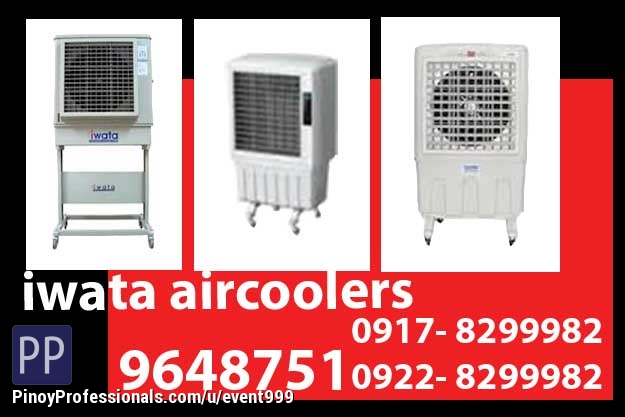 Event Planners - Iwata Aircooler Rent Hire Manila Philippines