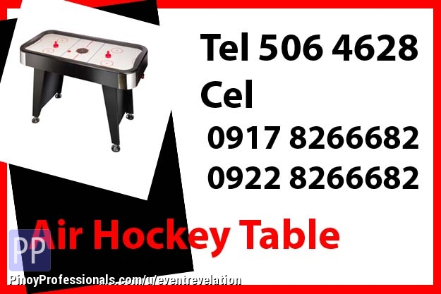 Event Planners - Air Hockey Table Rent Hire Manila Philippines