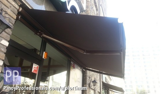 Business and Professional Services - Retractable Awning in Philippines
