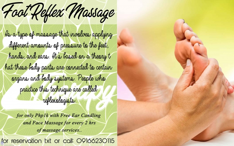 Beauty and Spas - FOOT MASSAGE