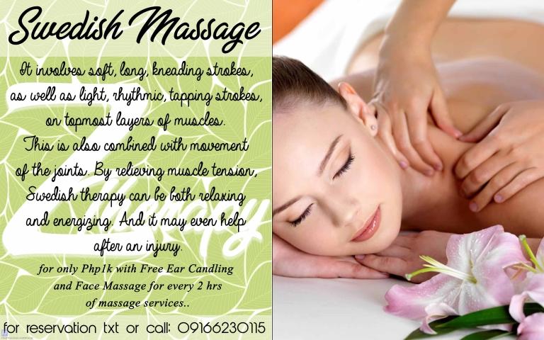 Beauty and Spas - Swedish Massage
