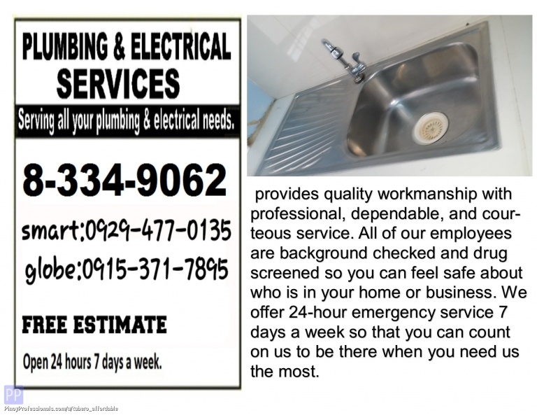 Home and Garden Services - malabon guaranteed plumbing tubero declogging painting watertank leak repiping