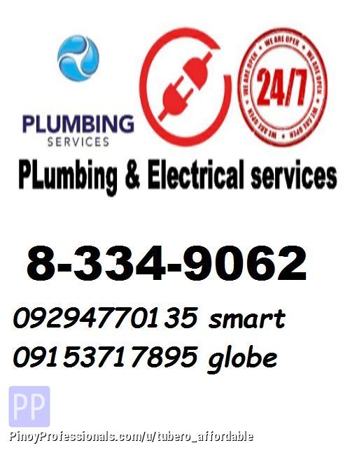 Real Estate Developers - marikina 24/7 plumbing tubero declogging painting repiping electrical watertank