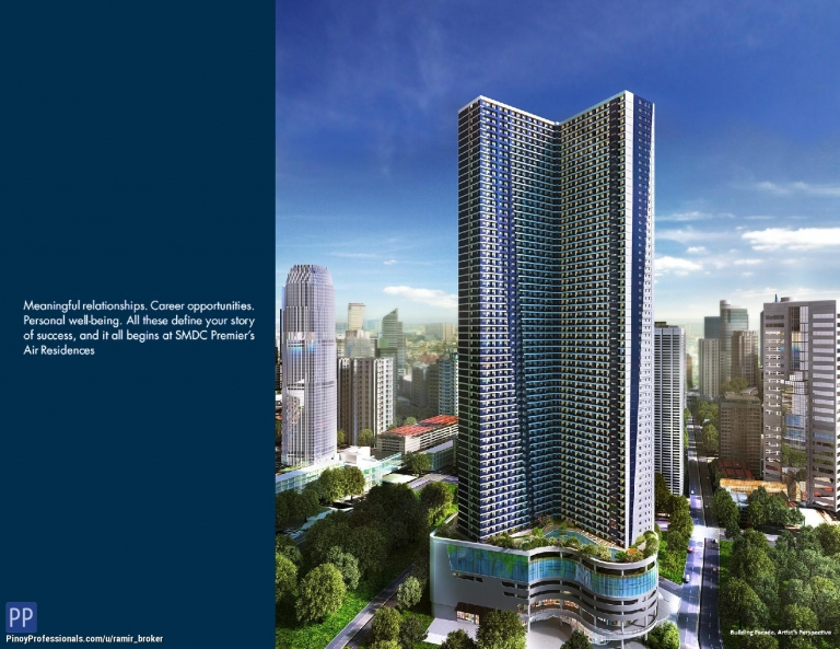 Apartment and Condo for Sale - AIR RESIDENCES - MAKATI CITY