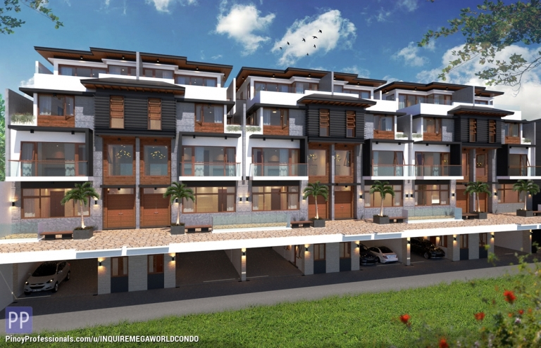 Apartment and Condo for Sale - 4-BEDROOMS 5-STOREY TOWNHOUSE IN QC NEAR NEW MANILA AND TIMOG AVENUE
