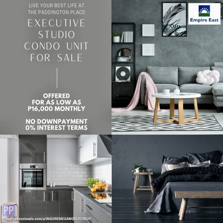 Apartment and Condo for Sale - MANDALUYONG PRE-SELLING CONDO UNIT NEAR SM MEGAMALL & EDSA SHANGRI-LA PLAZA ORTIGAS