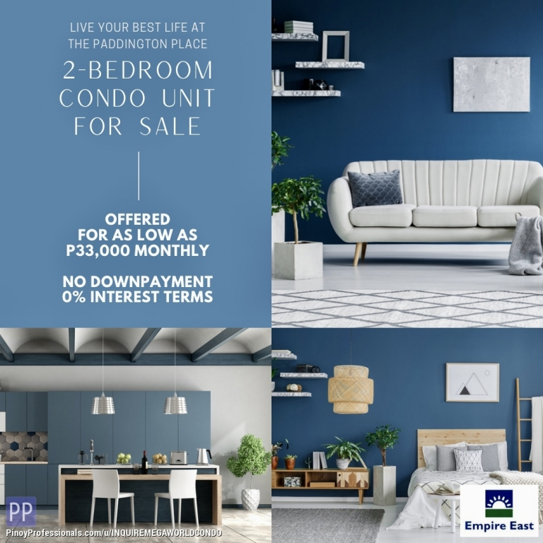 Apartment and Condo for Sale - 2BR CONDO IN MANDALUYONG NEAR MRT-3 EDSA SHAW BLVD. STATION. VERY ACCESSIBLE GOING BGC, MAKATI, ROCKWELL AND QC. FEW WALKS GOING ORTIGAS CBD