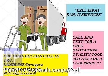 Moving Services - KZEL'S LIPAT BAHAY SERVICES