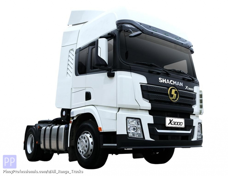 Trucks for Sale - Shacman X3000 Tractor Head 4x2 Prime Mover 6 wheeler