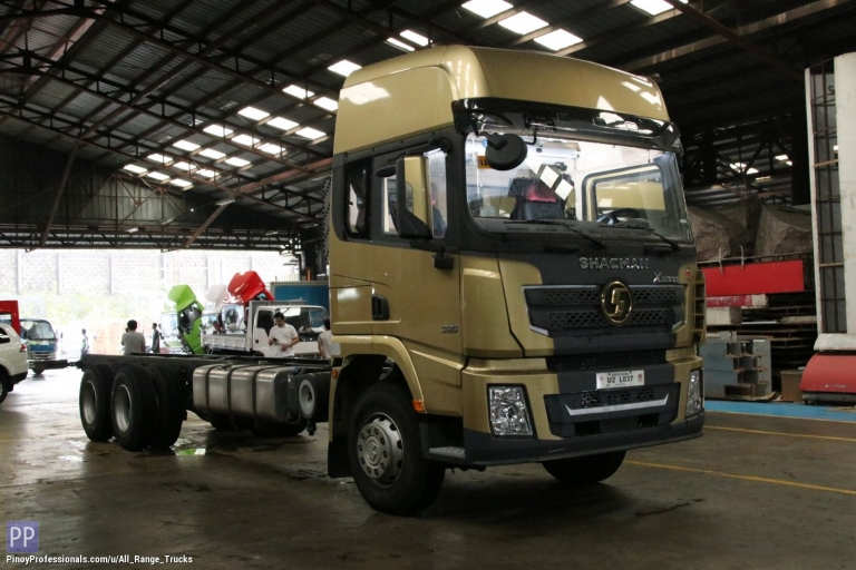 Trucks for Sale - Shacman X3000 6x2 Cab & Chassis Rigid Truck 10 wheeler SX1256XXY4T583C