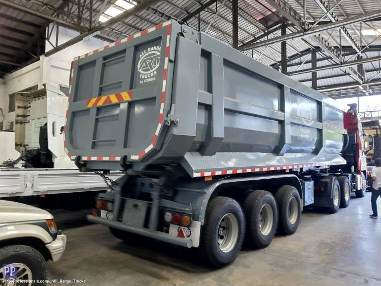 Misc Autos - CIMC ZCZ9400ZZXHJD Trailer Dump 36 cubic meter 3-axle